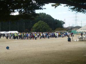 好天の体育祭