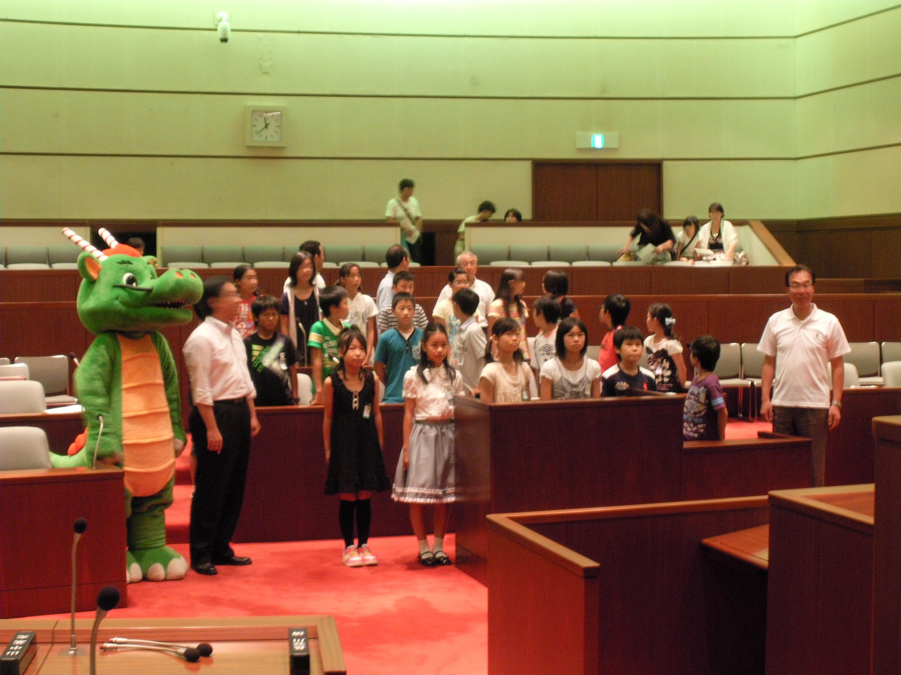 子ども議会 | 鶴ヶ島市長 さいとう芳久(斉藤芳久)Webサイト